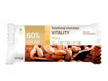 Funkční čokoláda VITALITY, Maca, 60% cacao 25 g