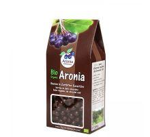 Arónie BIO (černý jeřáb, jeřabina), sušené plody v hořké čokoládě 200 g