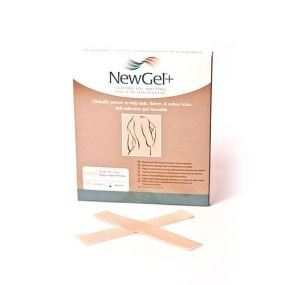 Průhledná náplast ve tvaru proužku 2,5 x 15,2cm (4ks v balení), NG-301S NewGel+