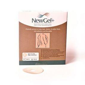 Kruhová béžová náplast- areola (2ks v balení), NewGel+ NG-120