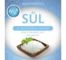 AWA cosmetics Soľ z mŕtveho mora kúpeľ 250g