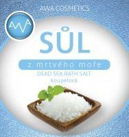 AWA cosmetics Soľ z Mŕtveho mora kúpeľová 250g