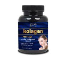 Mořský hydrolyzovaný kolagen + vitamín C + kyselina hyaluronová 90 kapslí