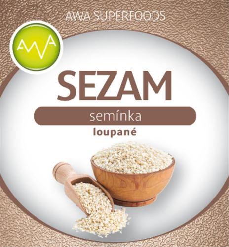 AWA superfoods Sezamové semienko lúpané 1000g