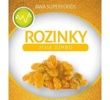 AWA superfoods Hrozienka golden JUMBO 1000g