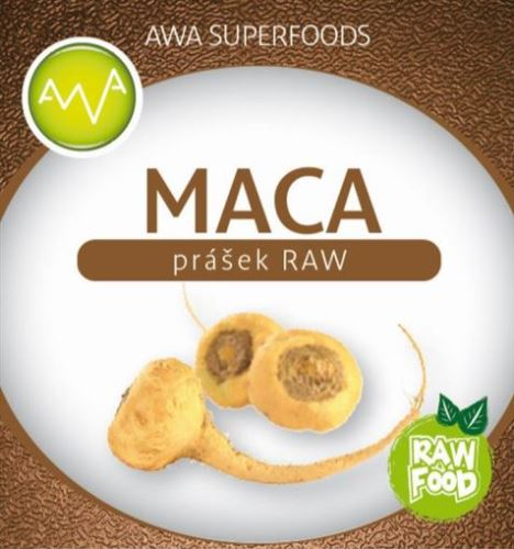 AWA superfoods Maca RAW prášok 250g