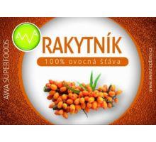 AWA superfoods Rakytníková 100% šťava 250 ml