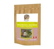 VALERIANA ANDINA prášek z mleté rostliny RAW 60g