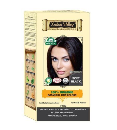BIO organic Henna Organická farba na vlasy Soft Black