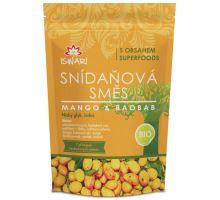 Iswari BIO RAW raňajky zmes mango baobab 360g