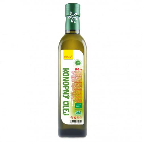 AWA superfoods konopný olej BIO RAW 500ml