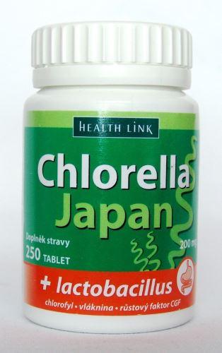 Chlorella Japan + lactobacillus 250 tbl.