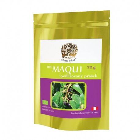 Maqui berry prášok z mrazom sušených plodov BIO RAW 70g