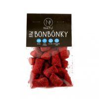 Bonbony malina - kokos RAW 60 g
