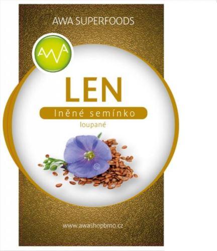 AWA superfoods Ľanové semienko lúpané 1000g