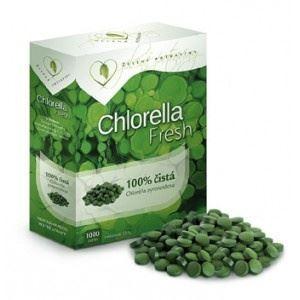 Ječmen a Chlorella