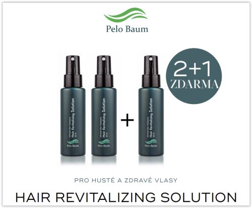 Renokin Hair Revitalizing Solution 60ml, akcie 2 + 1