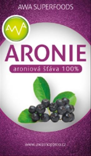 AWA superfoods arónie 100% šťava 3000ml
