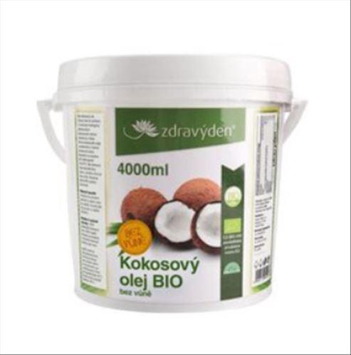 Kokosový olej BIO 4000ml bez vône