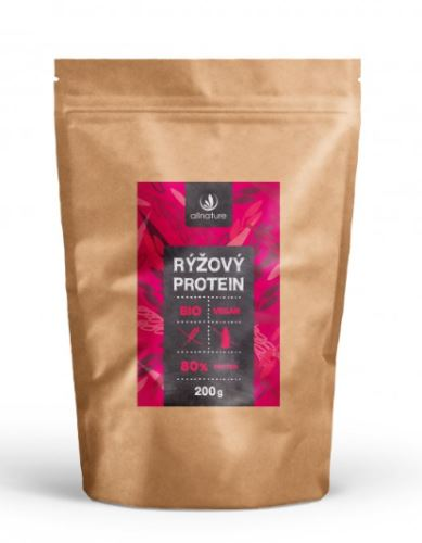 Ryžový proteín 80% BIO 200g