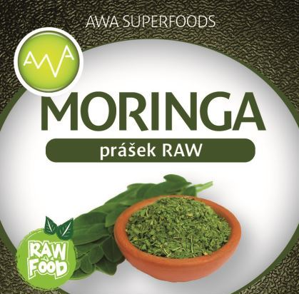 AWA superfoods Moringa prášok RAW 200 g