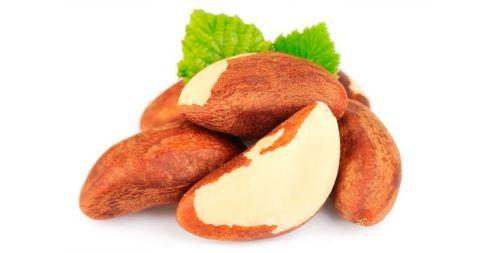 Para ořechy, tzv. brazilské ořechy