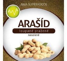 AWA superfoods Arašídy pražené nesolené loupané 1000g