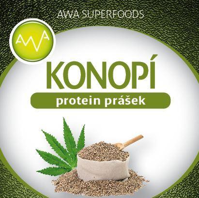 AWA superfoods konopný proteínový prášok 250g