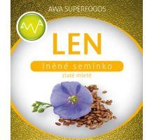 AWA superfoods Len zlatý mletý 500 g