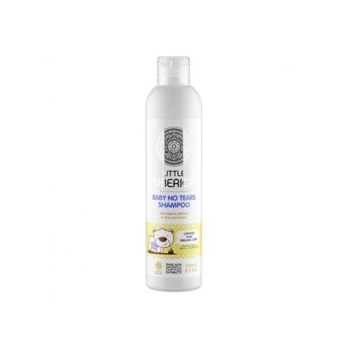 Detský šampón bez sĺz s prírodnými výťažkami z aloe a sladkého drievka, Little Siberica 250 ml