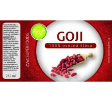 AWA superfoods Goji 100% šťáva 250 ml