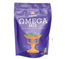 Iswari BIO RAW Omega MIX (zmes mletých semienok: 10% chia, 90% hnedý ľan) 250 g