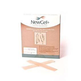 Transparentná náplasť v tvare prúžka 2,5 x 15,2cm (4ks v balení), NG-301S NewGel+
