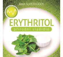 AWA superfoods Erytritol, prírodné sladidlo 500g