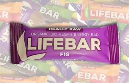 Figová RAW & BIO, Lifebar 47g