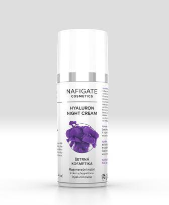 Nafigate regeneračný nočný krém s kyselinou hyalurónovou 50 ml