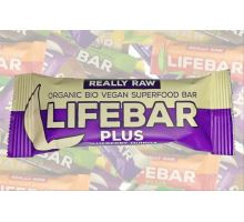 Blueberry Quinoa BIO RAW, Lifebar Plus 47g