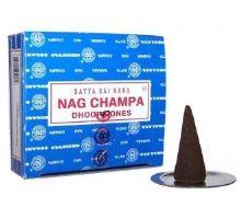 Vonné kužele Satya Sai Baba Nag Champa 12 ks
