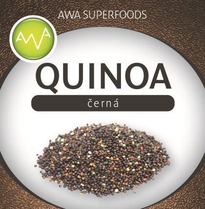AWA superfoods quinoa čierna 1000g