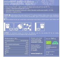 Iswari BIO RAW Raňajky zmes Chia a kakaové bôby 360g