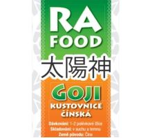 RA FOOD Goji kustovnica čínska plod natural 500g