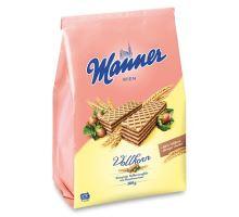Manner celozrnné oblátky s lieskovoorieškovou čokoládou 300g