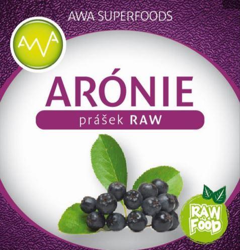 AWA superfoods Arónia prášok RAW 100g