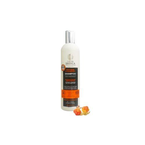 Šampón Severská Moruška - Intenzívna obnova a výživa pre poškodené a farbené vlasy , Natura Siberica 400ml