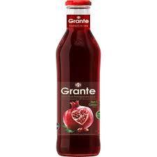 Granát Granátové jablko BIO, 100% čistá šťava, 0,75l