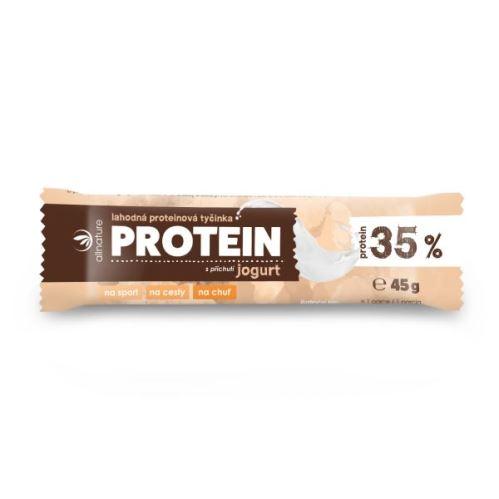 Proteinová tyčinka 35% jogurt 45 g
