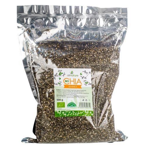 Allnature Bio Chia semienka 500 g