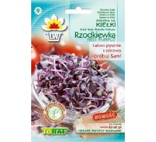 Reďkovka red purple - semená na klíčky 10g