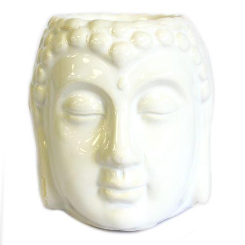 Aromalampa Hlava Budha biela malá