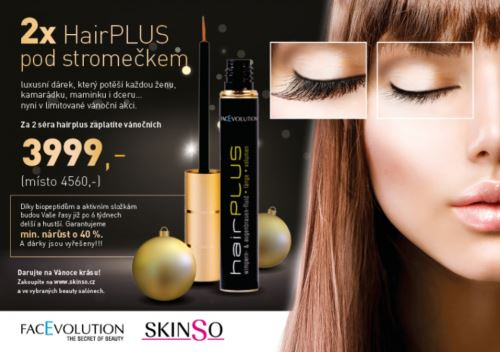 Hairplus sérum na řasy 4,5ml - balíček 2ks